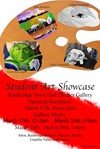 Poster of Jericho Student Art Showcase.