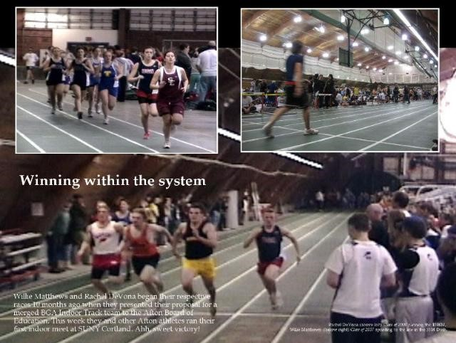 Winning within the system poster