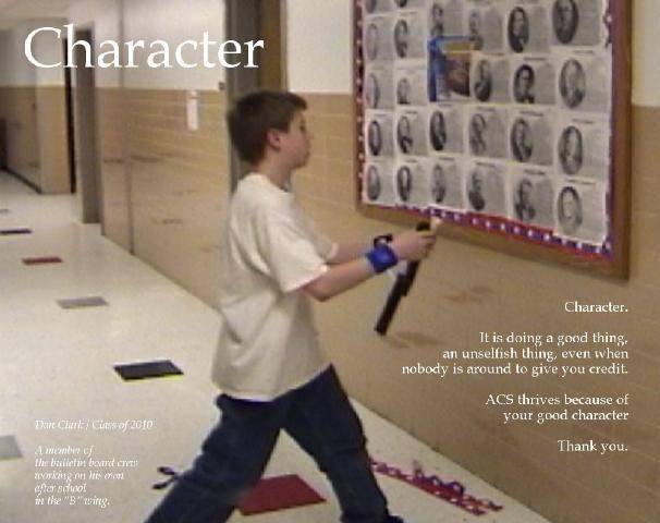 Character poster