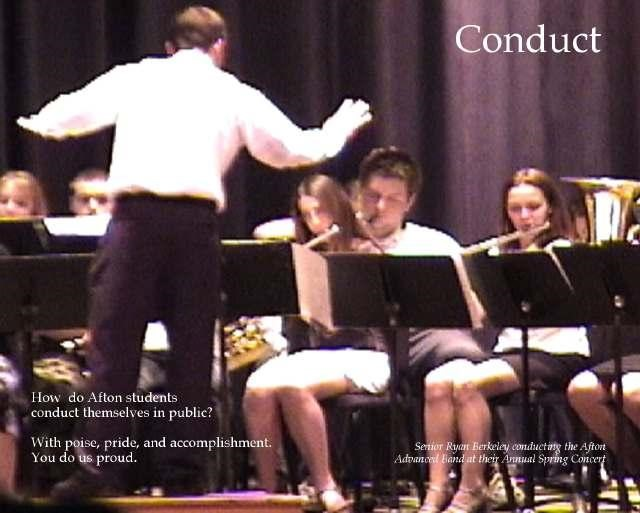 Conduct poster
