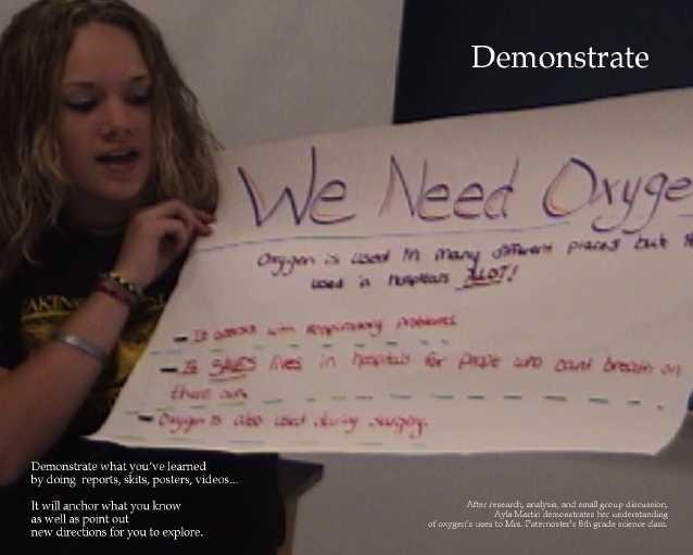 Demonstrate poster