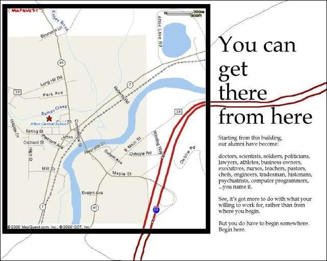You can get there poster