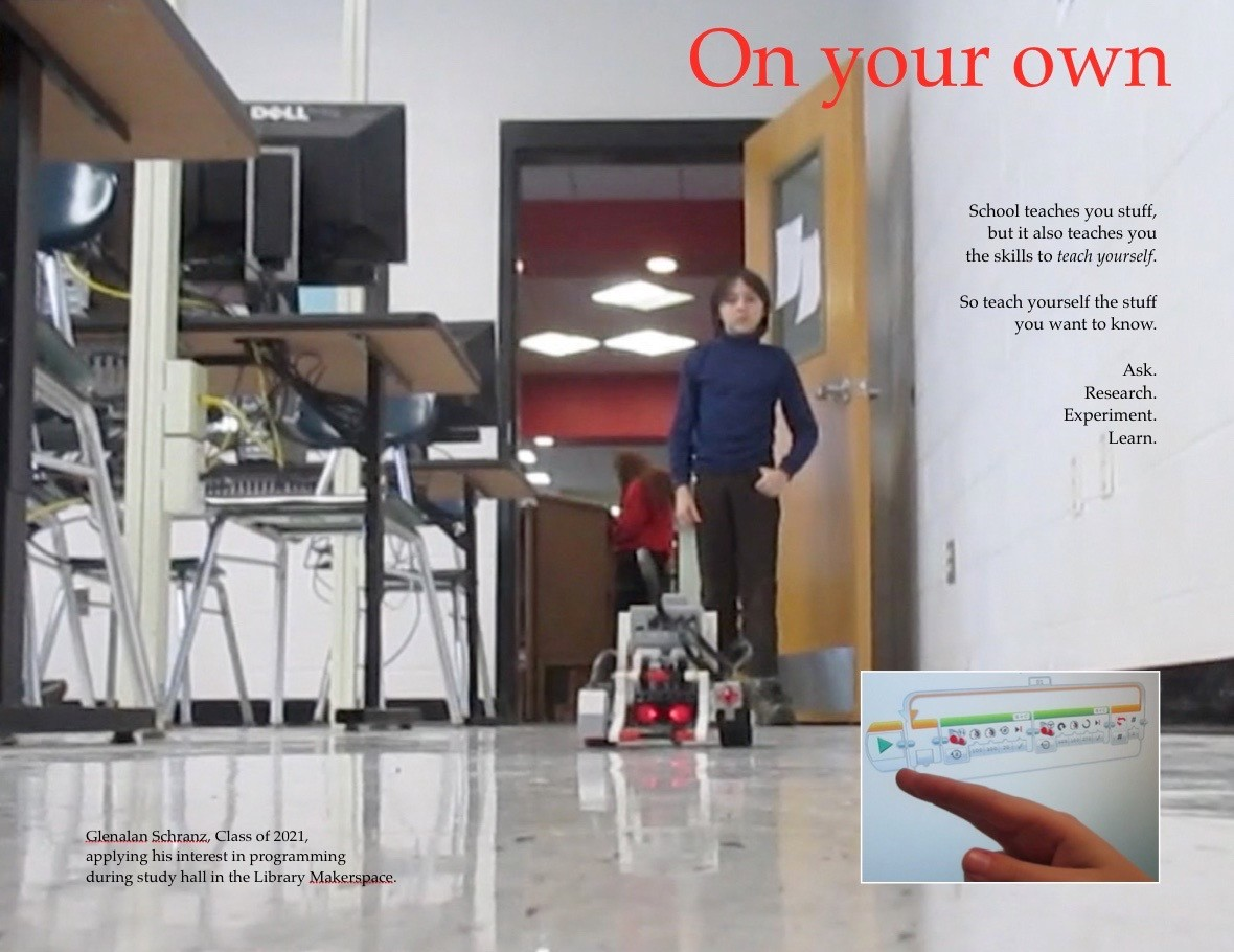 On your own poster