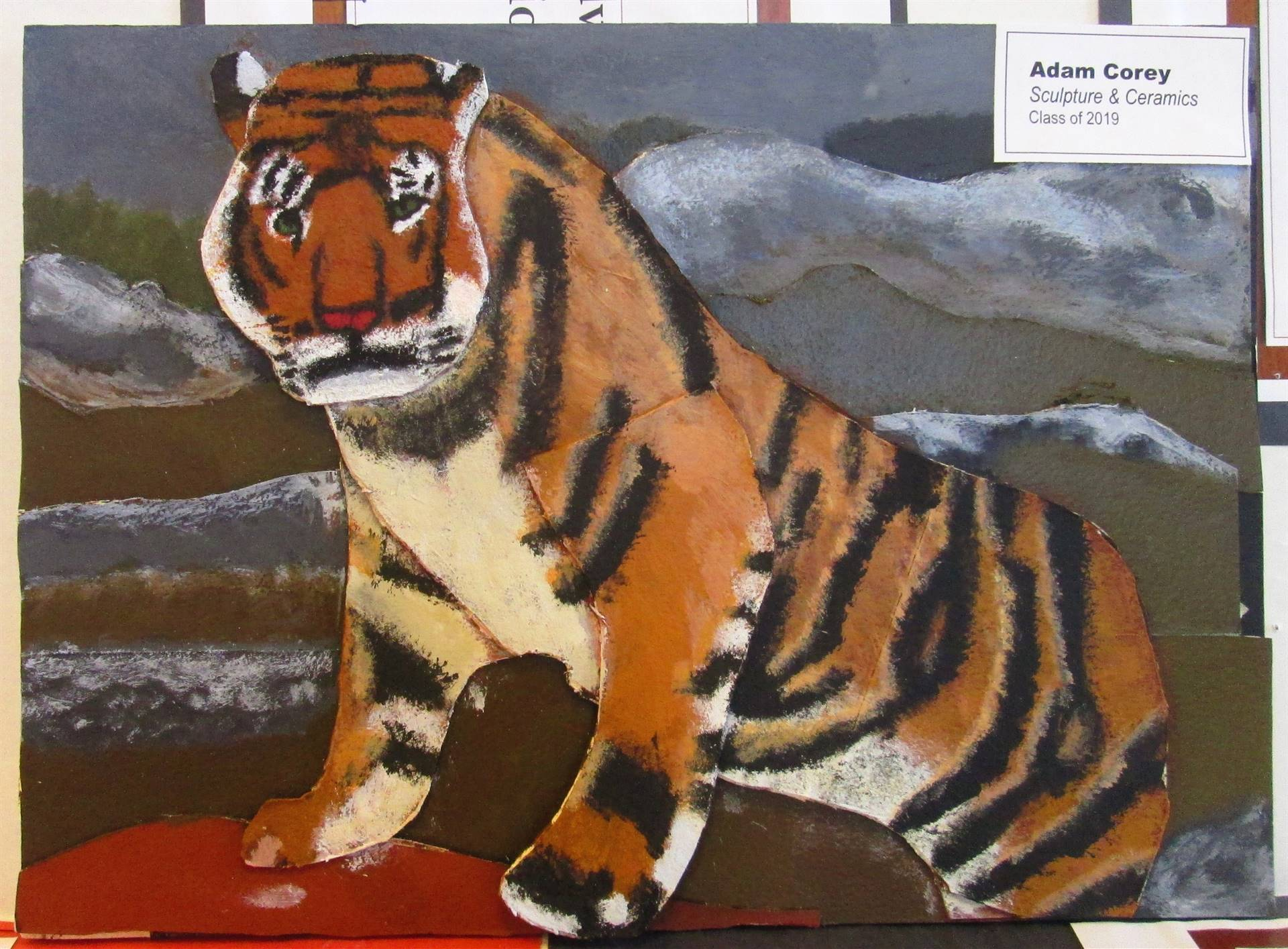 ACS student painting.