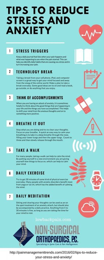 Stress and Anxiety Tips