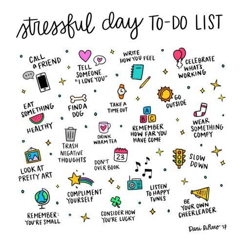 Stressful Day To-Do List