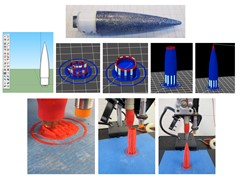 Image of 3D printing project: rocket nose-cone.