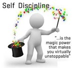 CHARACTER WORD FOR APRIL IS SELF-DISCIPLINE