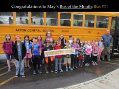 May Bus of the Month: