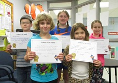 May Students of the Month: